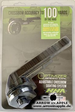 HHA Optimizer Speed Dial - Adjustable crossbow sighting system (3348)