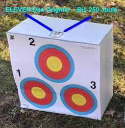 Target, target cube made with special synthetics - foam - 44x44x22cm (3123)