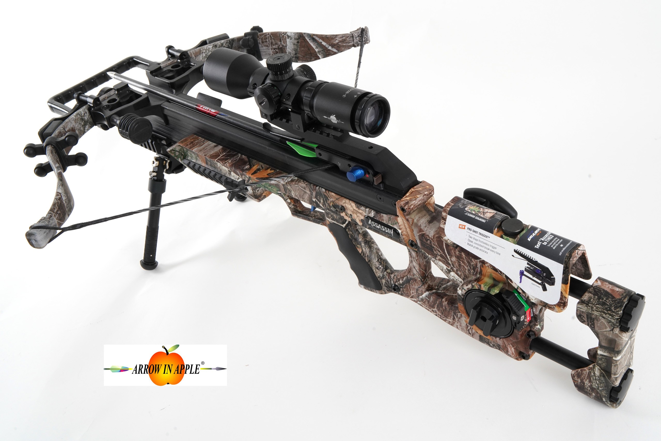 excalibur assassin crossbow at arrow in apple. Black Bedroom Furniture Sets. Home Design Ideas