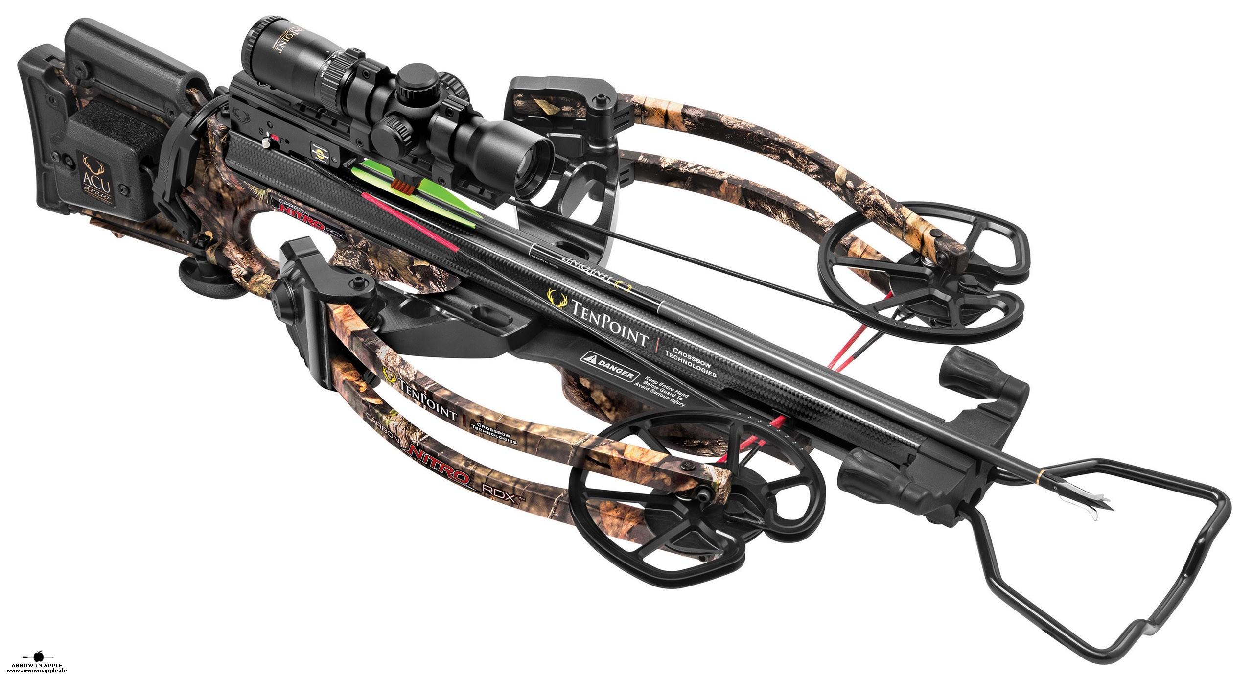 rdx crossbow nitro carbon tenpoint armbrust der arrow