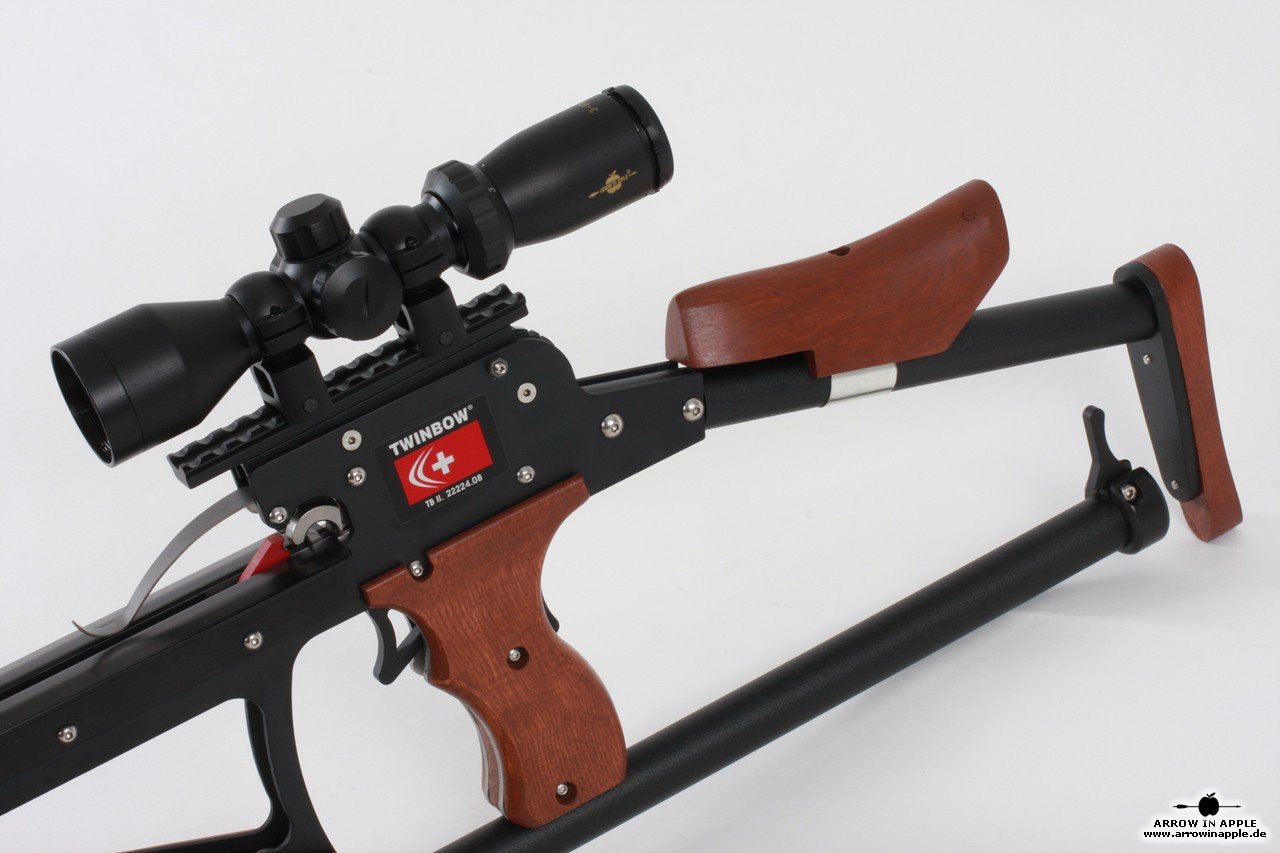Scm Twinbow Ii Sixpack Riser Crossbow At Arrow In Apple