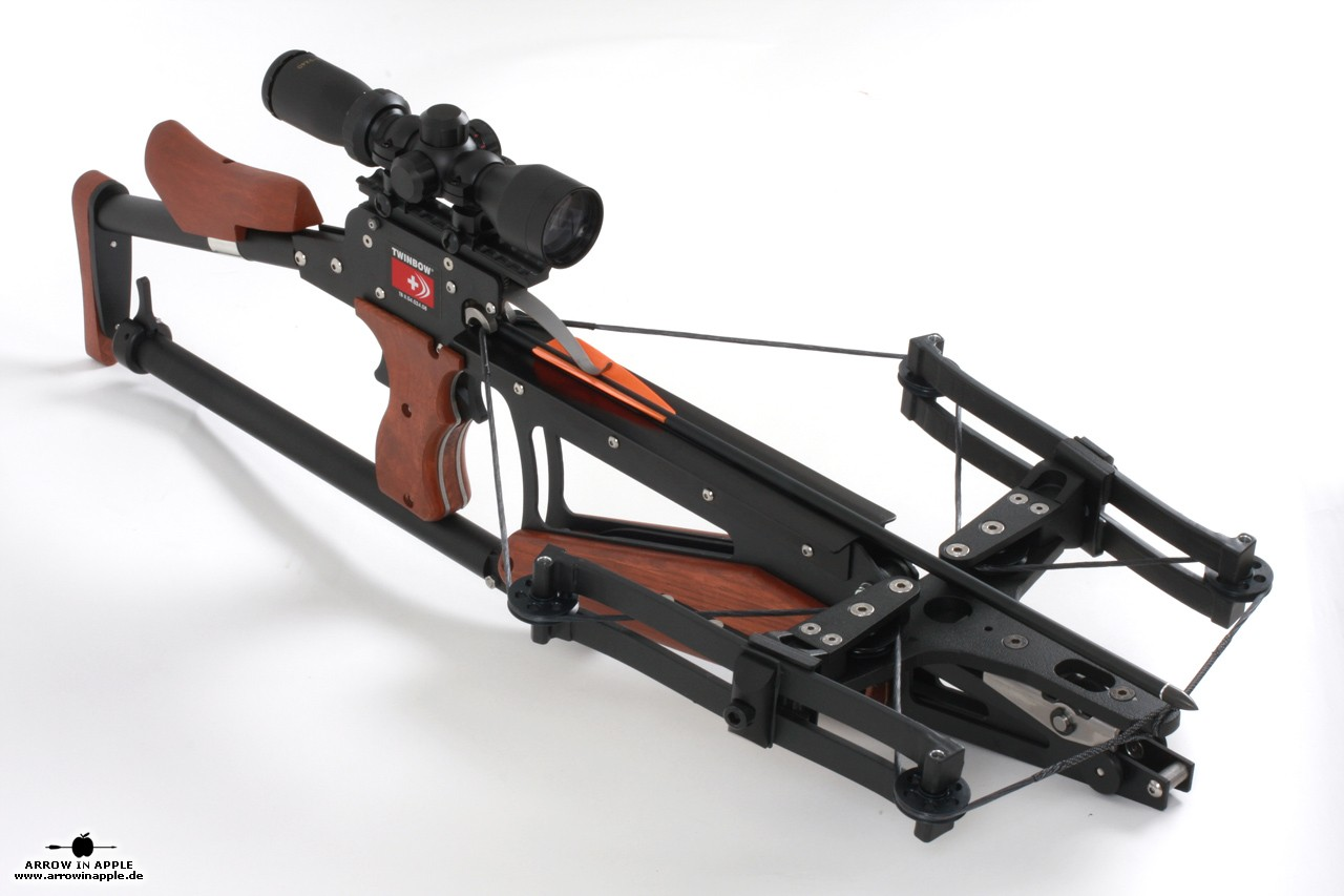 scm twinbow ii sixpack riser crossbow at arrow in apple. Black Bedroom Furniture Sets. Home Design Ideas