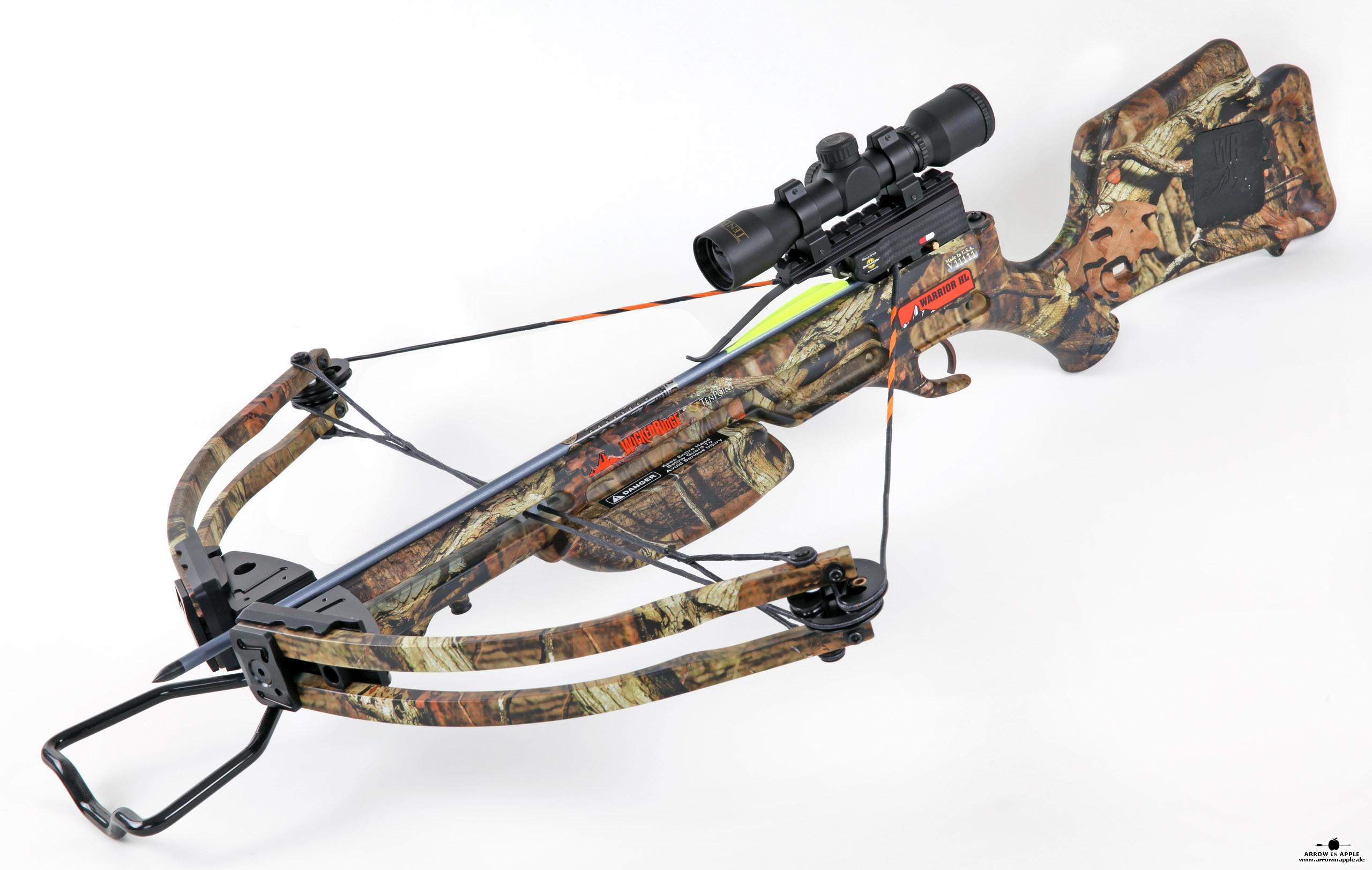 Wicked Ridge Warrior Hl 2015 Crossbow At Arrow In Apple